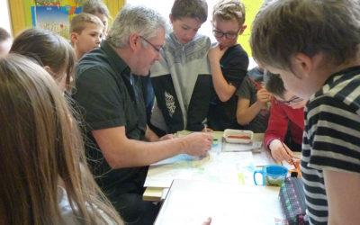 Atelier pédagogique école Notre-Dame de Cléry, Cléry St-André