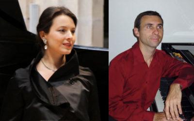 Concert duo chant lyrique et piano par Soanny Fay et Jean-François Bouvery