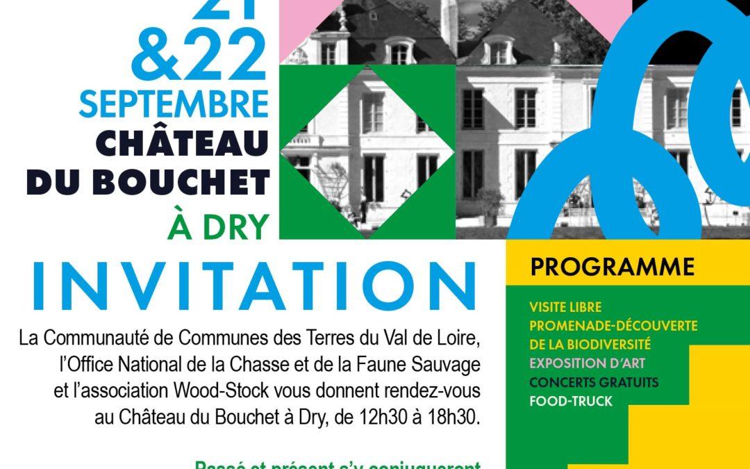 Journées Européennes du Patrimoine 2019, Château du Bouchet à Dry
